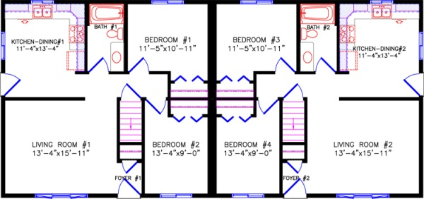 2670-Duplex-floorplan