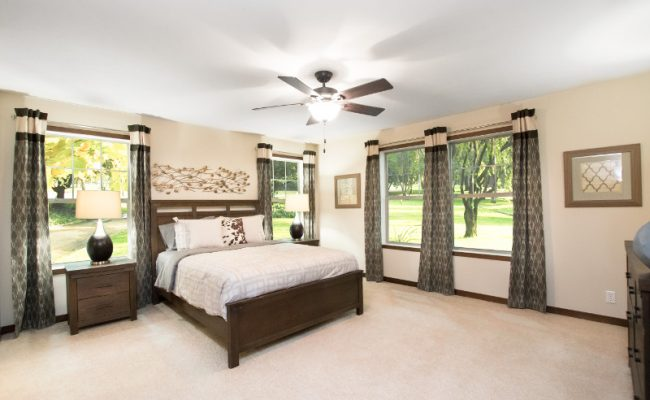 harrison 18 Master Bedroom – Ceiling Fan