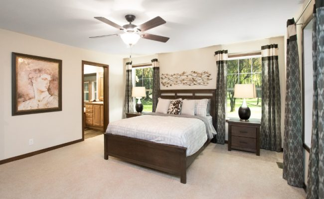 harrison 20 Master Bedroom – Ceiling Fan – Bath 1