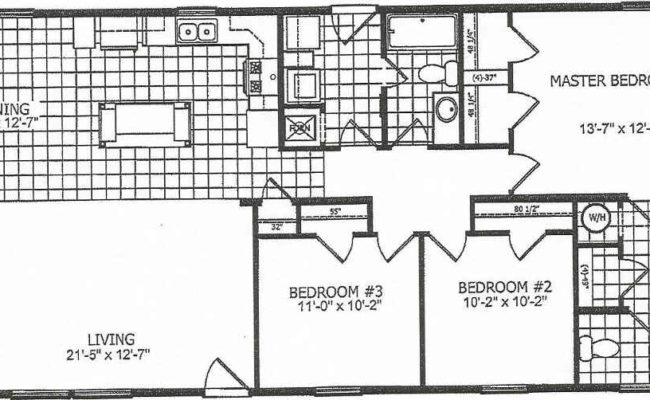 Walnut Creek WC2854-1 Floor Plan
